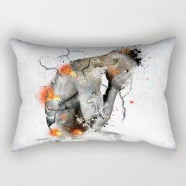 nude explore  Rectangular Pillow