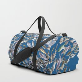 Mermaid in Monaco Duffle Bag