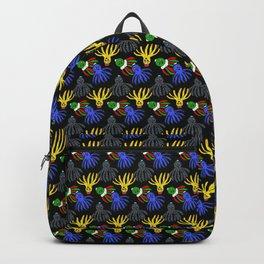 Kyle's babies print (Black) Backpack