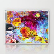 Monsieur Bone in the Abstracts world Laptop & iPad Skin
