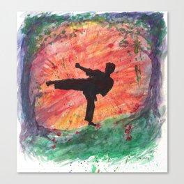 Sidekick Sunrise Canvas Print