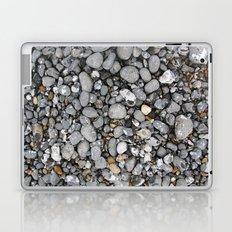 pebbles on the beach Laptop & iPad Skin