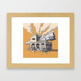 Take a Sleep Framed Art Print