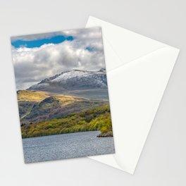 Snowdon from Padarn Lake Llanberis Stationery Cards