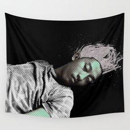 I SLEEP OVER Wall Tapestry