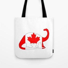 Canada Brontosaurus Tote Bag