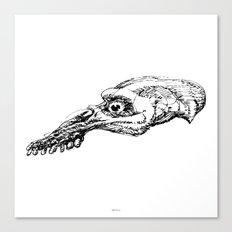 Thursday Skull Canvas Print