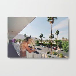 Desert Escape Metal Print