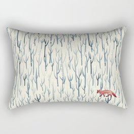 Winter Wood Rectangular Pillow