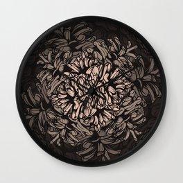 Pine Cones Pattern I Wall Clock