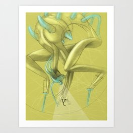 De los vuelos | Of flights { n°_ 003 } Art Print