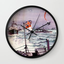 Arms for Russia Wall Clock
