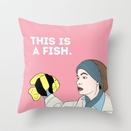 This is a Fish Throw Pillow