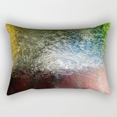 Glass Abstract Rectangular Pillow