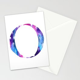 Letterforms O : Olivia Stationery Cards