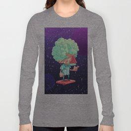 Einstein in Space Long Sleeve T-shirt
