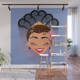 Tuti-Lady Flamenquerías/Character & Art Toy design for fun Wall Mural