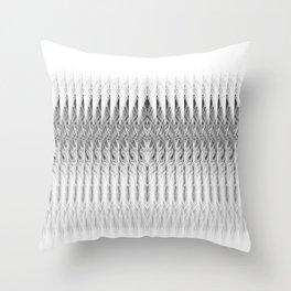 Coconut Palm Comores Throw Pillow