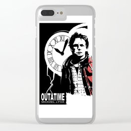 Outatime Clear iPhone Case