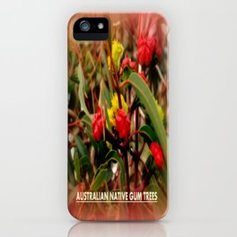 Australian Native Gum Trees iPhone Case