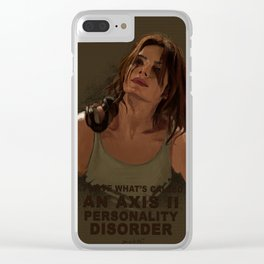 Shaw 2x16 Clear iPhone Case