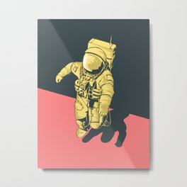 X-Over Metal Print