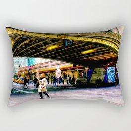 Grand Central terminal.. Rectangular Pillow