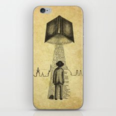 Take Me To Your Reader iPhone & iPod Skin