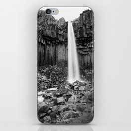 Svartifoss Waterfall iPhone Skin
