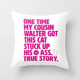 Opening Lines - Mallrats Throw Pillow