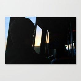 Morning Bus Ride Canvas Print