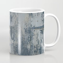Warehouse District -- Vintage Industrial Farm Chic Abstract Coffee Mug