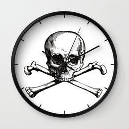 Skull and Crossbones | Jolly Roger Wall Clock