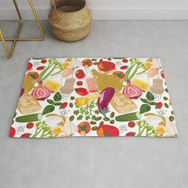 Fresh Italian Market Food Rug
