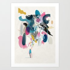 God Metaphor Art Print