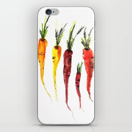 Buncha Carrots iPhone Skin