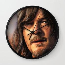 Norman Reedus. Daryl Dixon Wall Clock