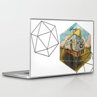 earthbound Laptop & iPad Skins featuring Space Camper by JustJustin