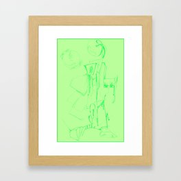 Titled. Framed Art Print