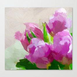 Tulpen Canvas Print