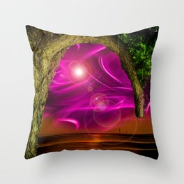 Sunset -Sunrice Throw Pillow