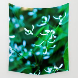 Delicate White I Wall Tapestry