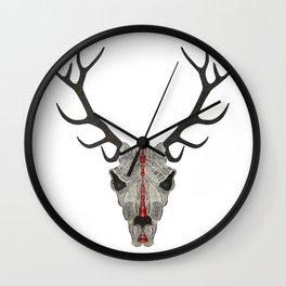 Demon Deer Wall Clock