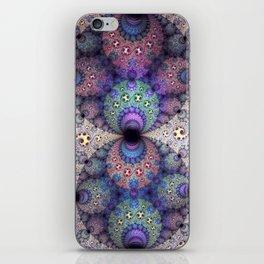 Unending patterns in a fractal design iPhone Skin
