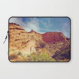 Golden Cliffs Laptop Sleeve