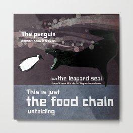 food chain 5 Metal Print
