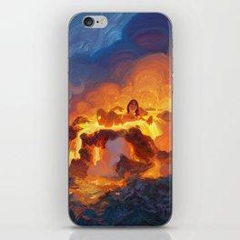 Hot Bath iPhone Skin