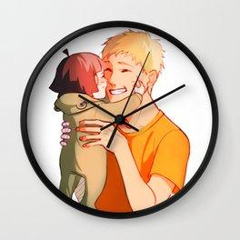 Sunny morning Wall Clock