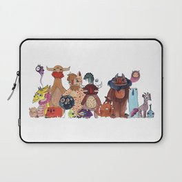A Big Monster Family Laptop Sleeve