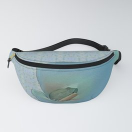 Portrait of a Frog Prince Fanny Pack